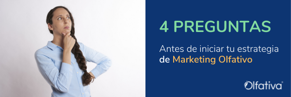 4 pasos para marketing olfativo